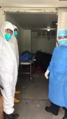 Covid19 Ecuador - muertos sin cremarse en el Ministerio de Salud - Amorgue 3