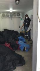 Covid19 Ecuador - muertos sin cremarse en el Ministerio de Salud - Amorgue 4