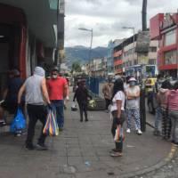 Coronavirus: Continúan aglomeraciones en el sur de Quito