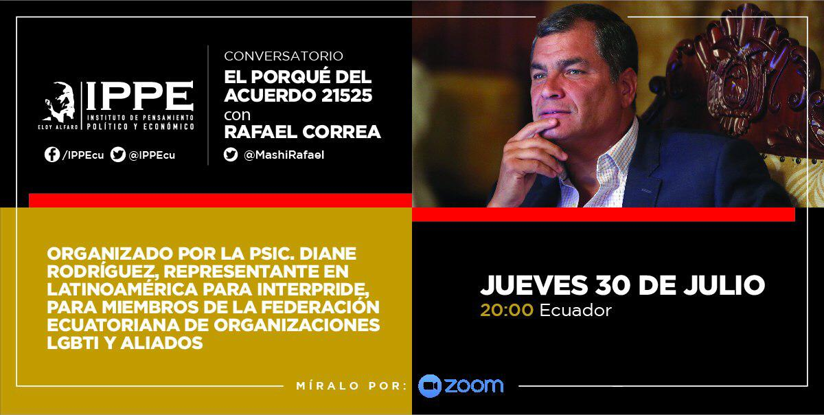 Población LGBT conversa con el ex presidente Econ. Rafael Correa Delgado - federación ecuatoriana de organizaciones LGBT y Asociación Silueta X - diane rodriguez