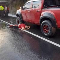 ¡Fusilados en la carretera vía Pifo!